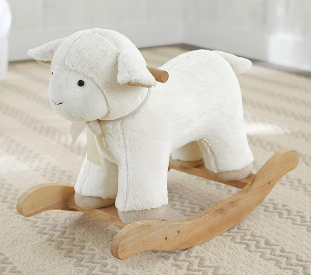 Lamb Plush Rocker Pottery Barn Kids Au