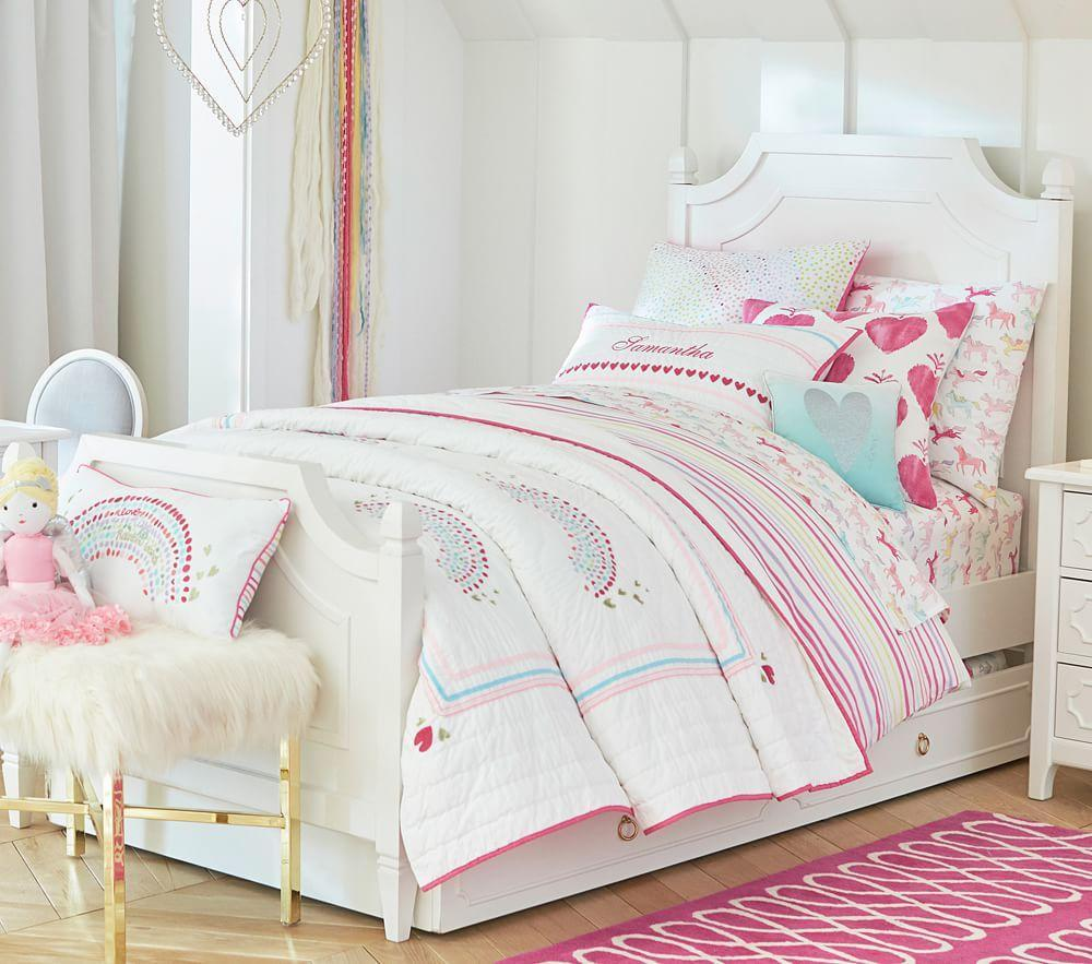 Regency Bedroom Furniture Ava Regency Single Bed Pottery Barn Kids