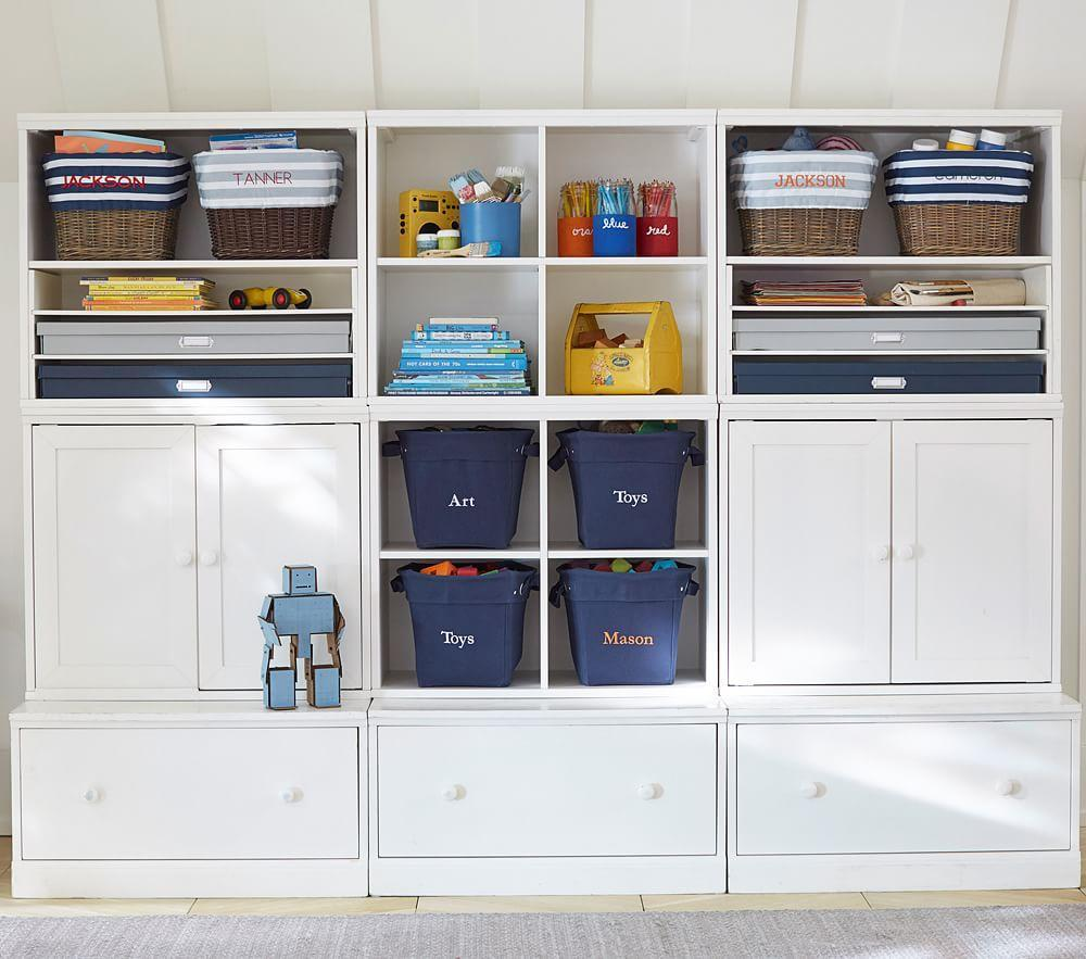 Creativity Storage System With Drawers