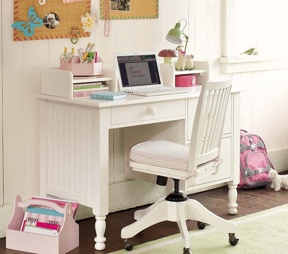 Does Pottery Barn Have Furniture In Stock: Catalina Storage Desk & Small Hutch