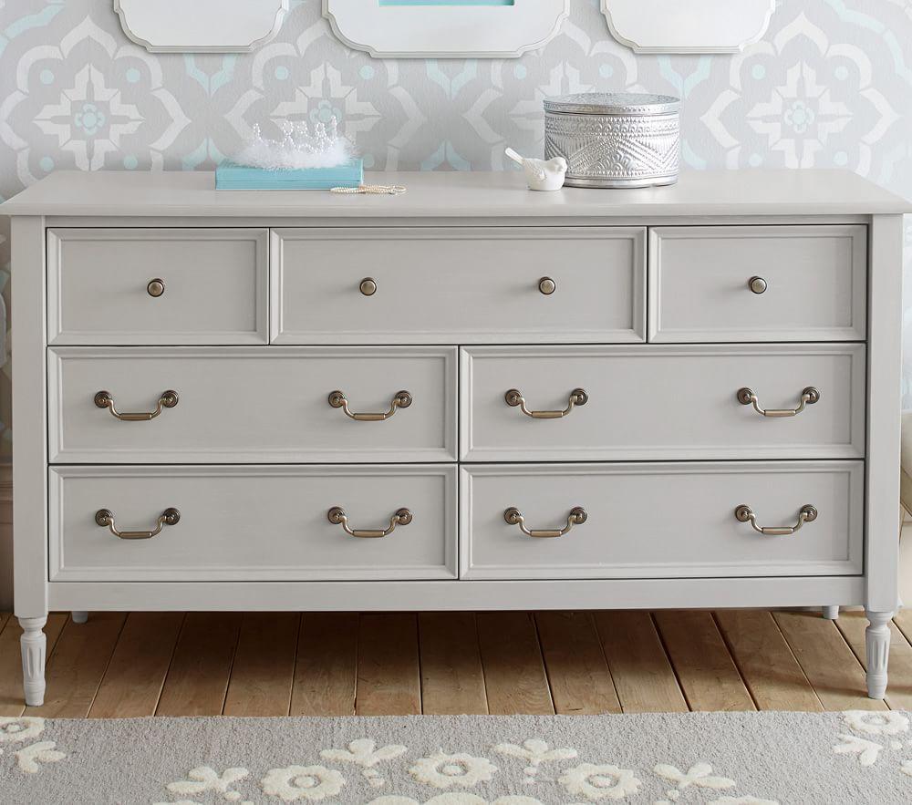 Blythe Extra-Wide Dresser- Vintage Grey