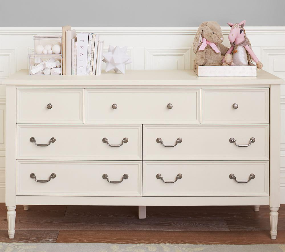 Blythe Extra-Wide Dresser - French White