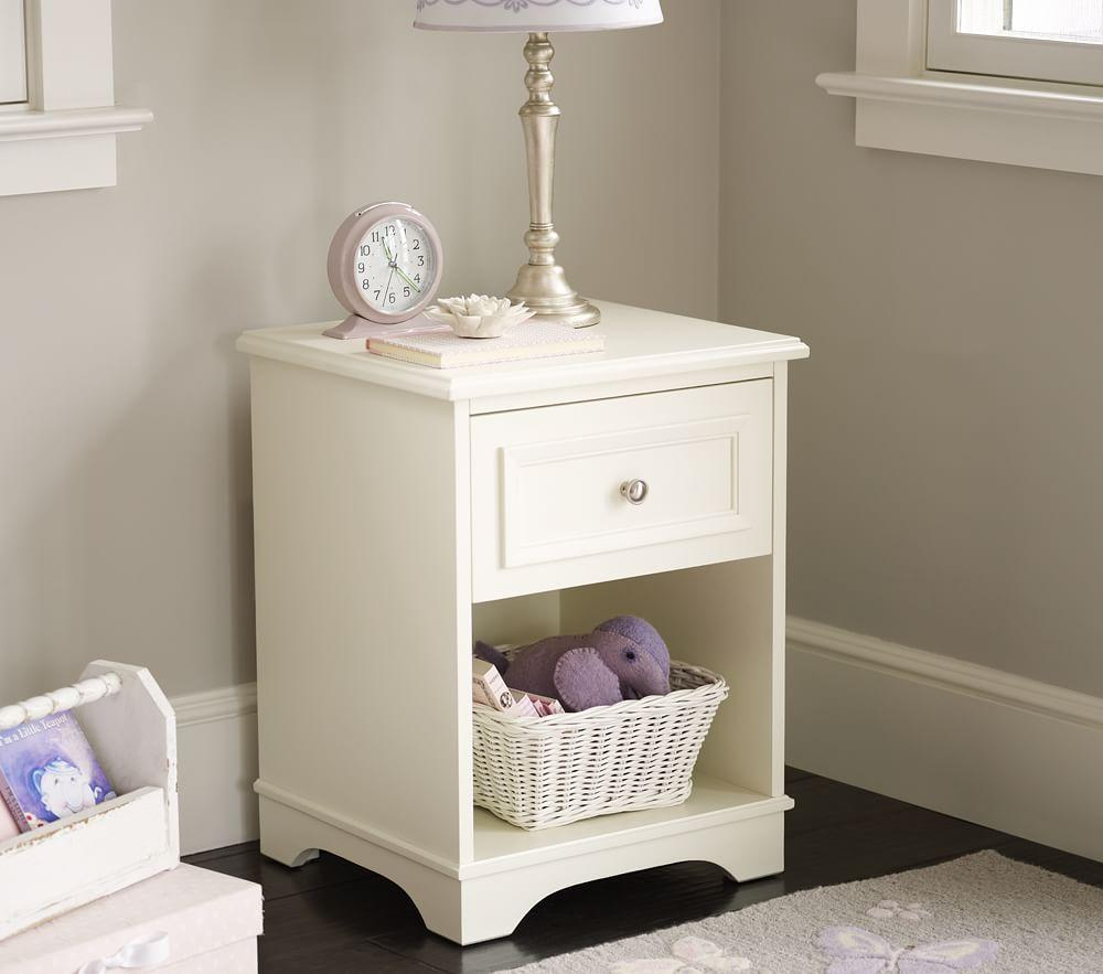Fillmore Bedside Table Pottery Barn Kids