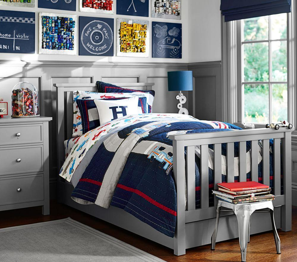 Elliott Bed Charcoal Pottery Barn Kids Au