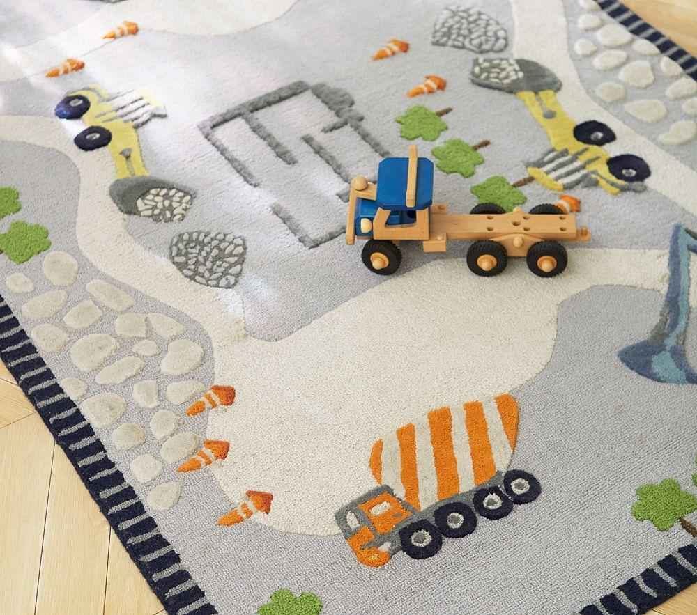Construction Rug Pottery Barn Kids
