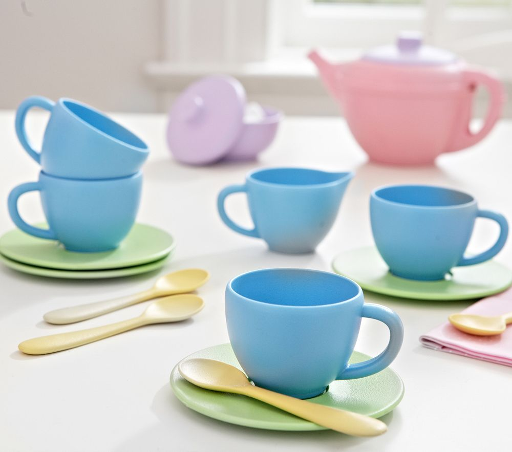 Green Toys™ Tea Set | Pottery Barn Kids