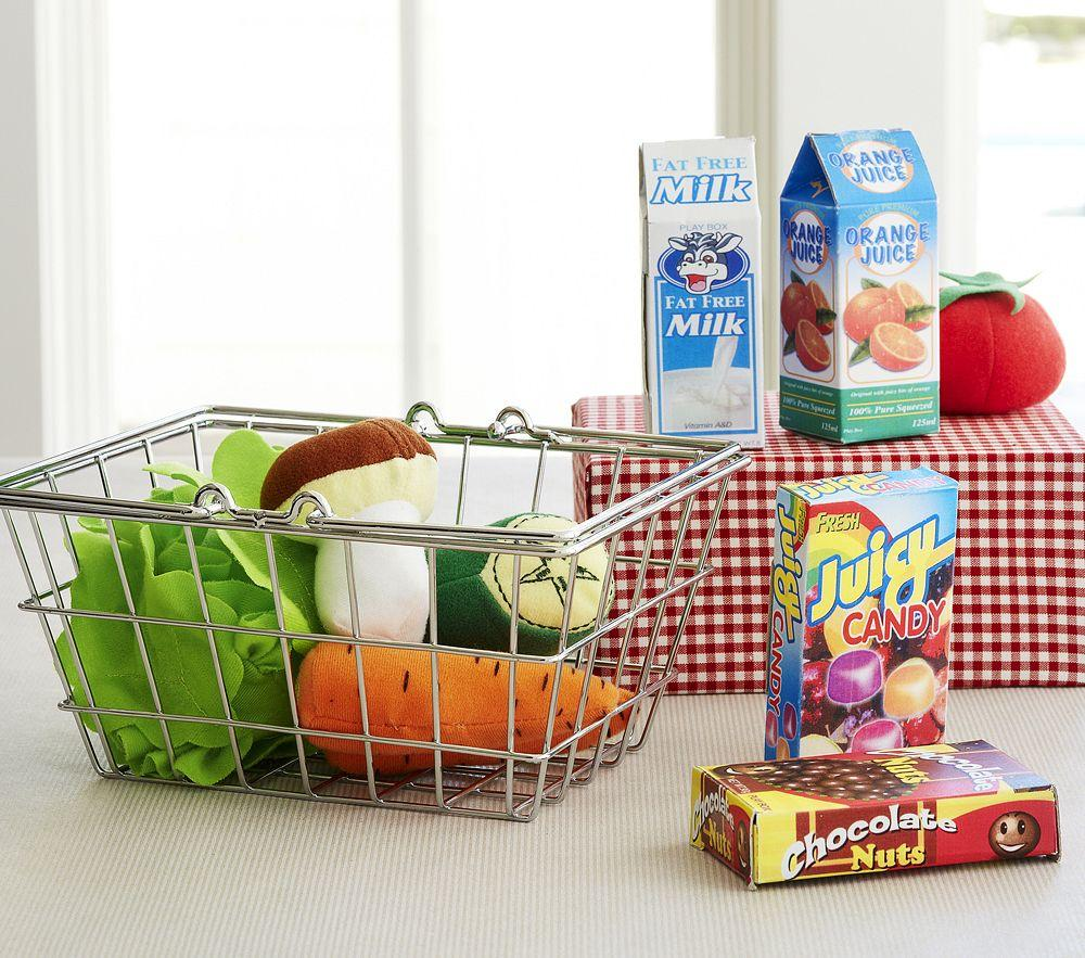 Mini Grocery Basket Set Pottery Barn Kids Au