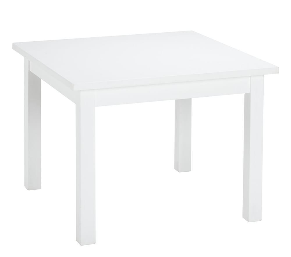 My First Play Table Amp Chairs Simply White Pottery Barn