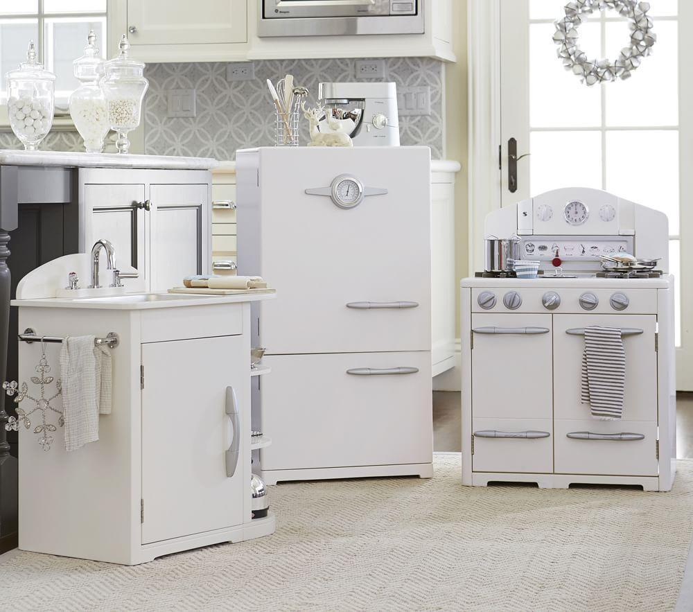 simply white retro kitchen collection. Black Bedroom Furniture Sets. Home Design Ideas