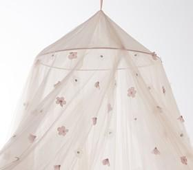 Monique Lhuillier Metallic Cornice Canopy Pottery Barn