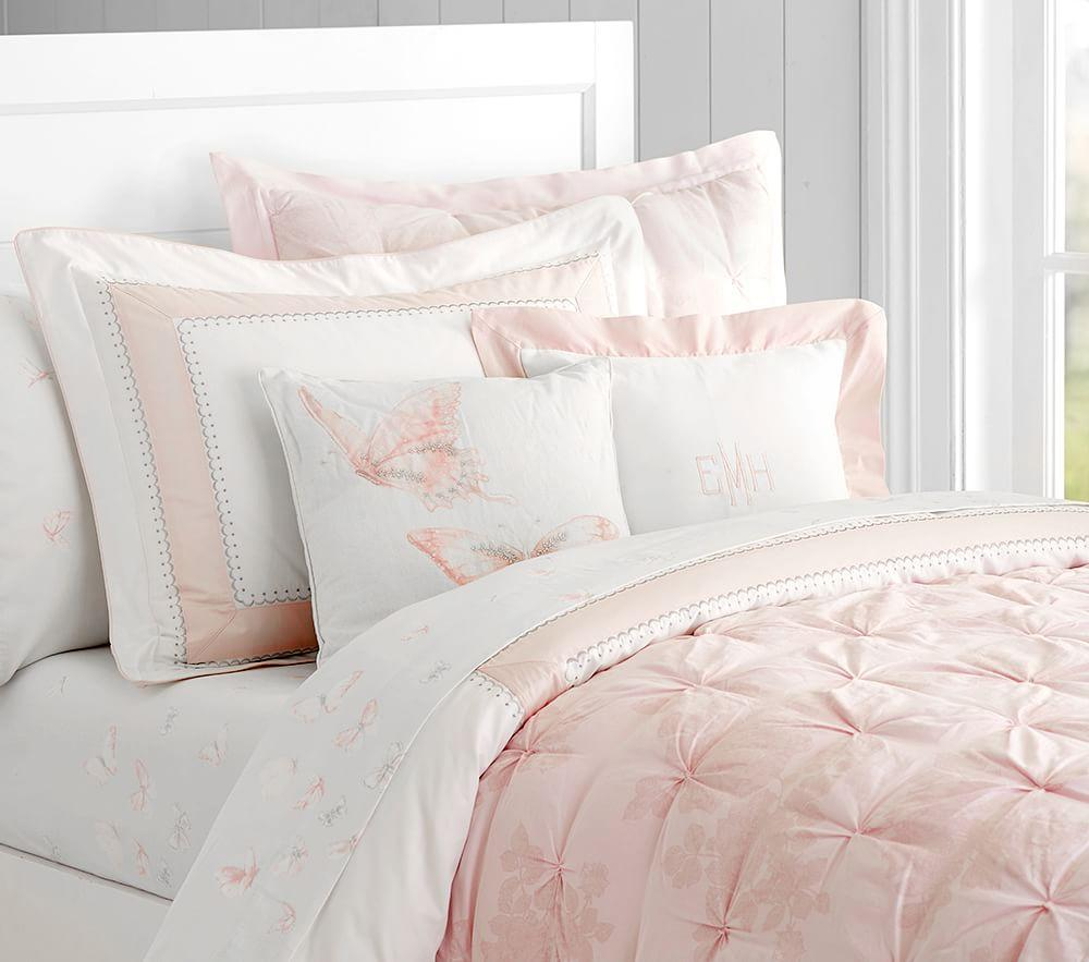 Monique Lhuillier Ethereal Lace Comforter Pottery Barn