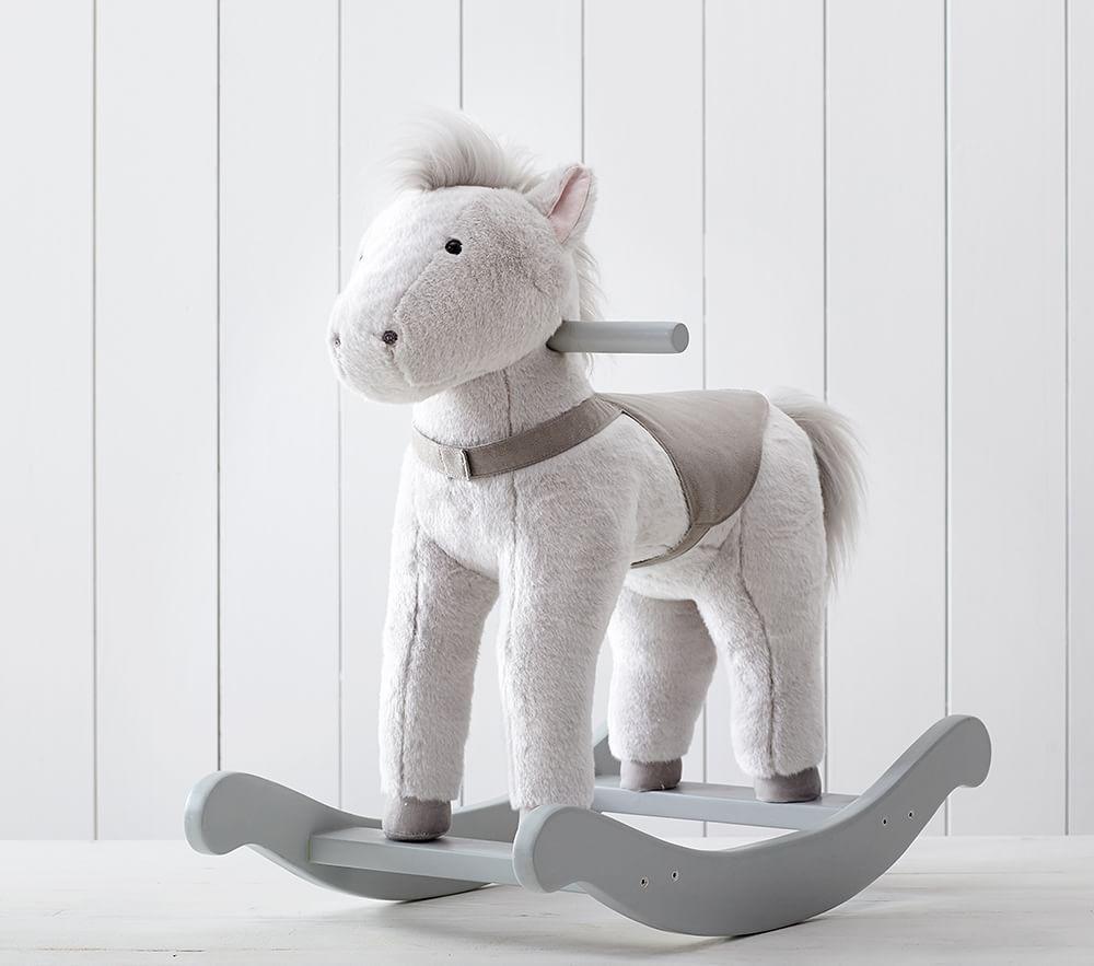 Monique Lhuillier Horse Plush Rocker Pottery Barn Kids