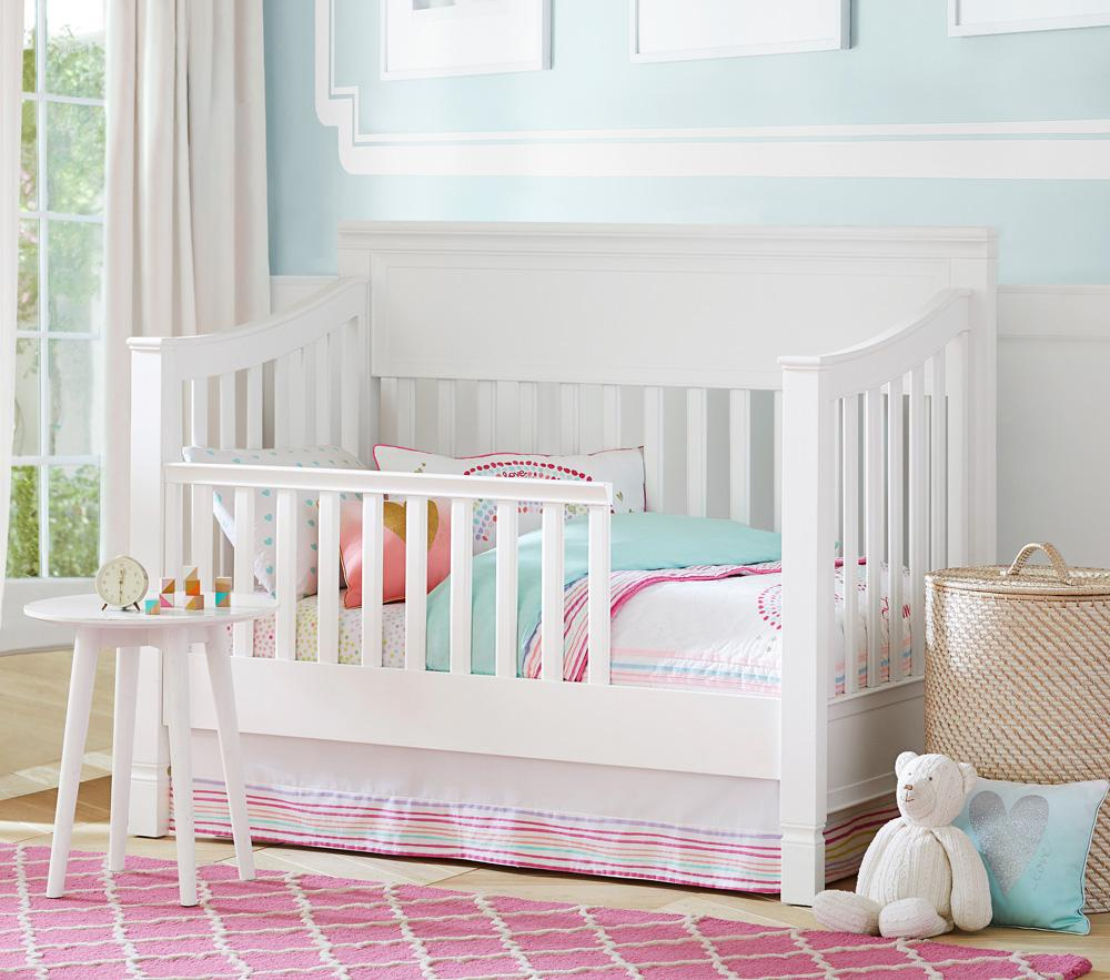 Larkin Toddler Bed Conversion Kit - Simply White