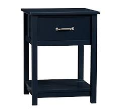 Camp Bedside Table - Navy