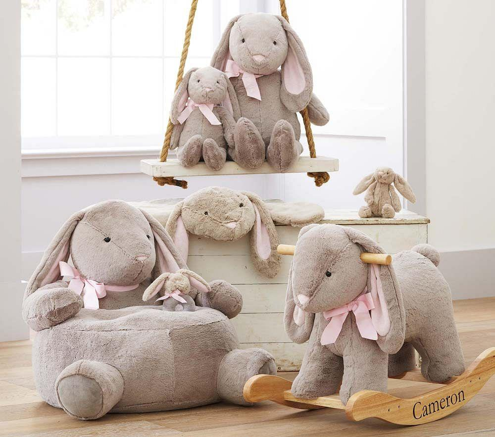 Bunny Plush Play Mat Pottery Barn Kids