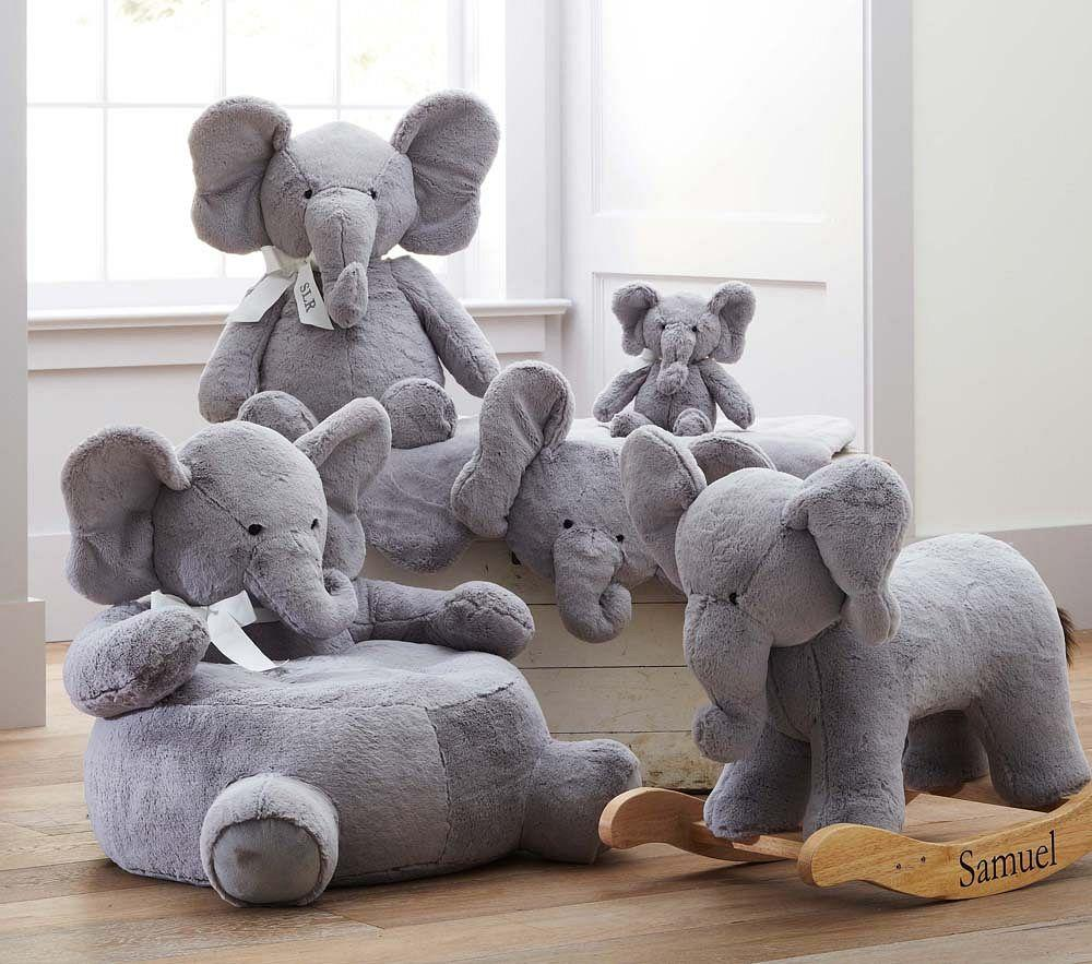 Elephant Plush Play Mat Pottery Barn Kids Au