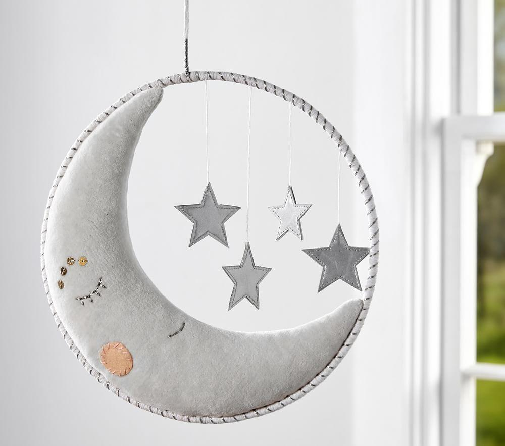 Dream Ring Moon Amp Stars Mobile Pottery Barn Kids