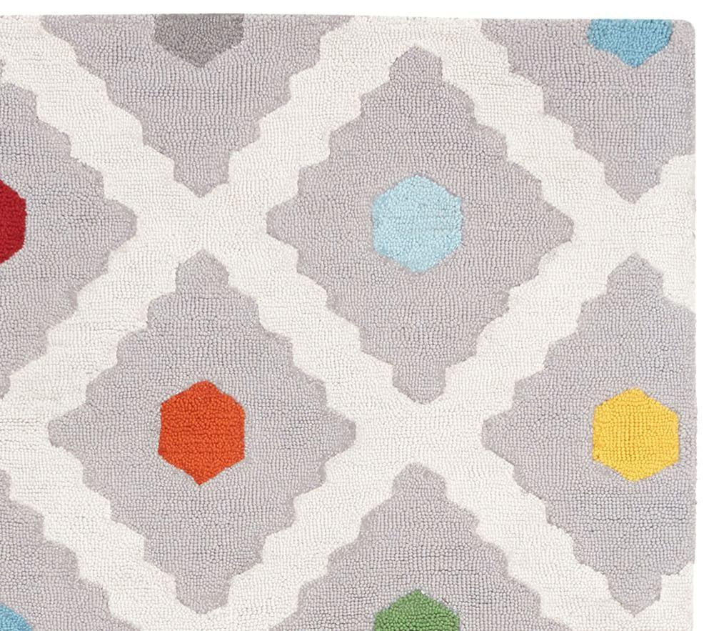 Multi Dot Rug Pottery Barn Kids