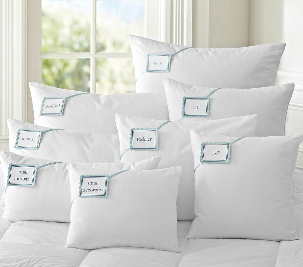 Luxury Loft Down Alternative Pillows | Pottery Barn Kids