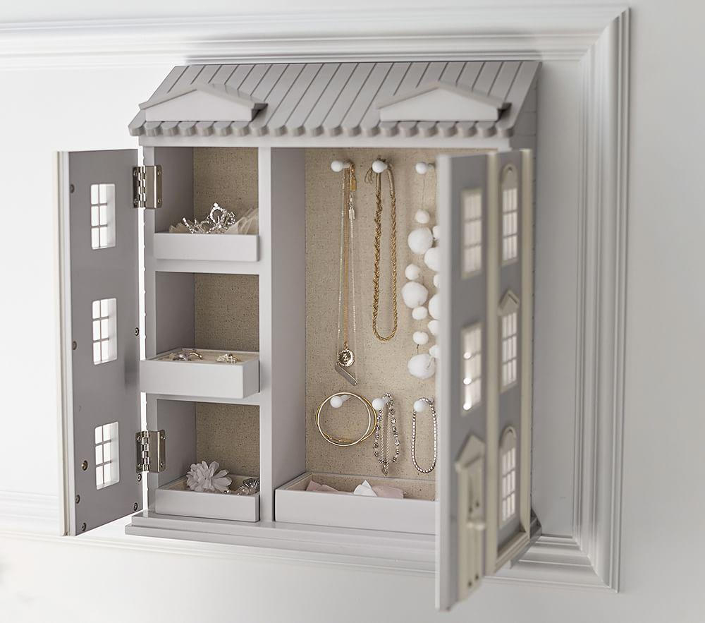 Dollhouse Jewellery Cabinet | Pottery Barn Kids
