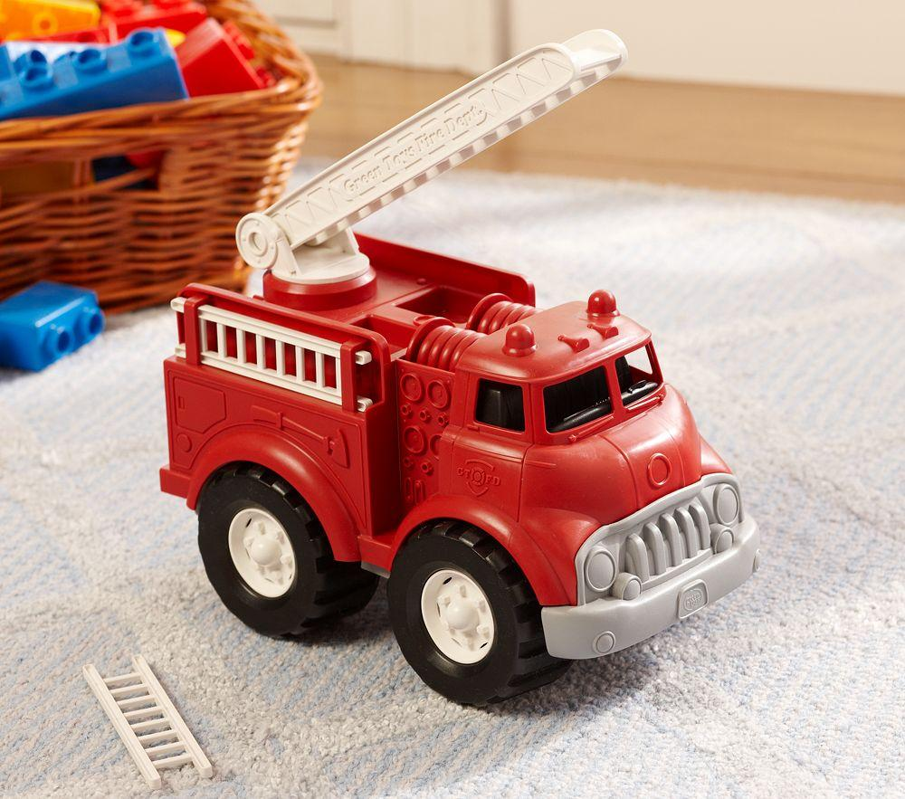 Green Toy Truck : Green toys™ fire truck pottery barn kids