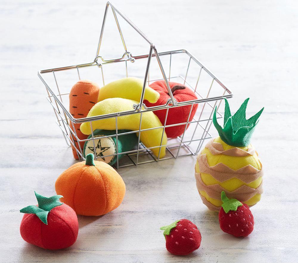 Mini Grocery Basket Fruit Pottery Barn Kids Au
