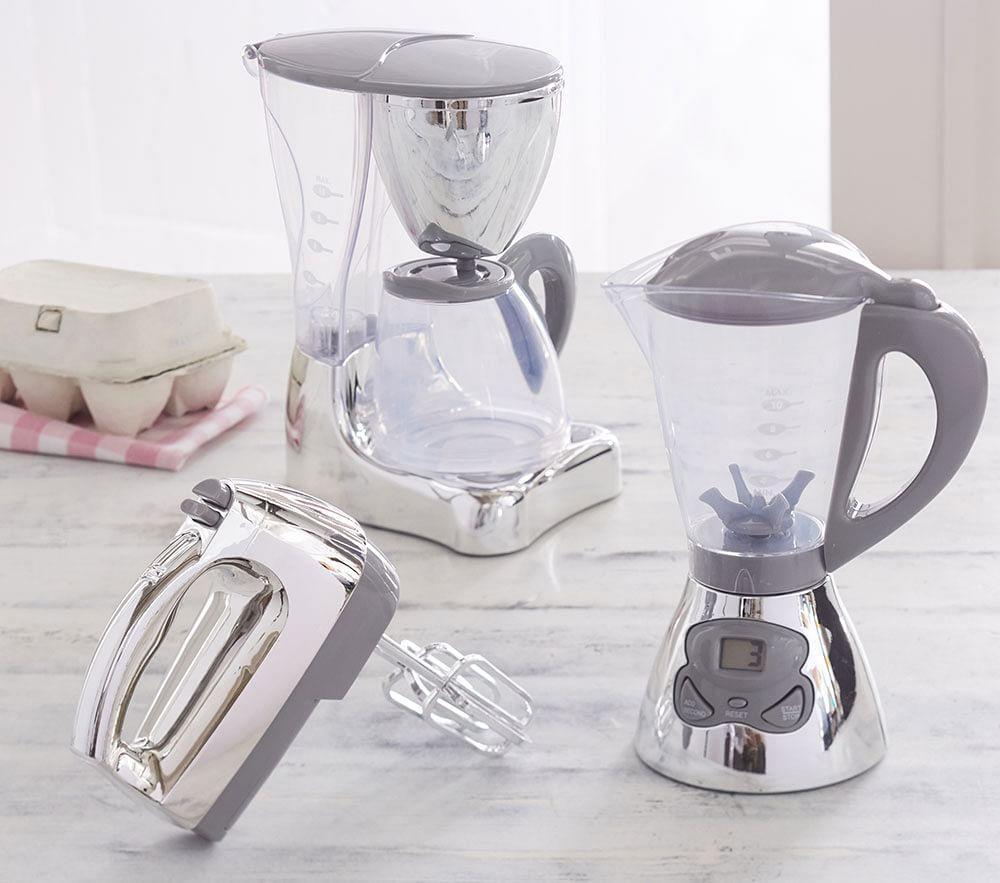 Grey Chrome Kitchen Appliances