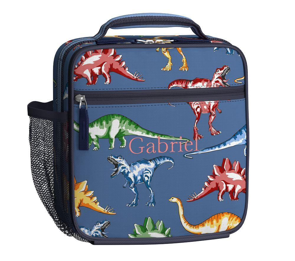 Mackenzie Blue Multicolor Dino Lunch Bag Pottery Barn Kids
