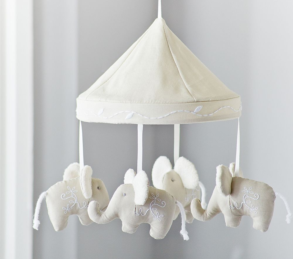 Elephant Cot Mobile