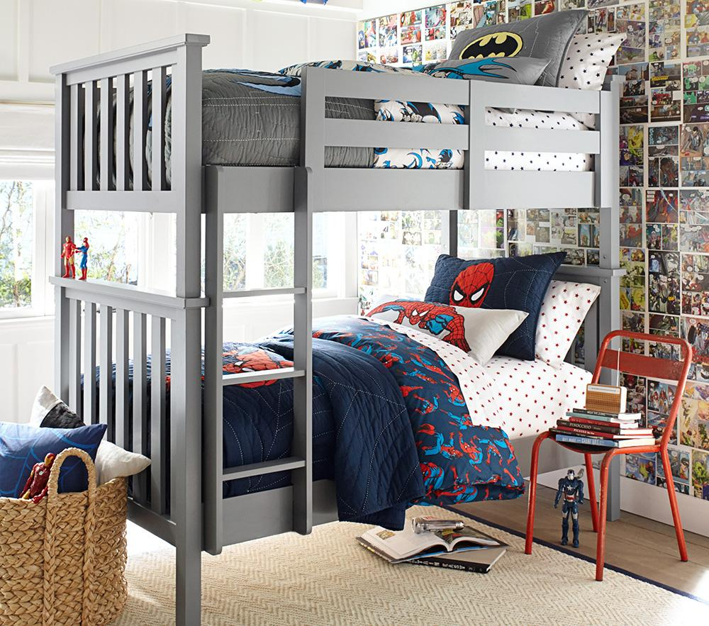 Elliott Bunk Bed - Simply White