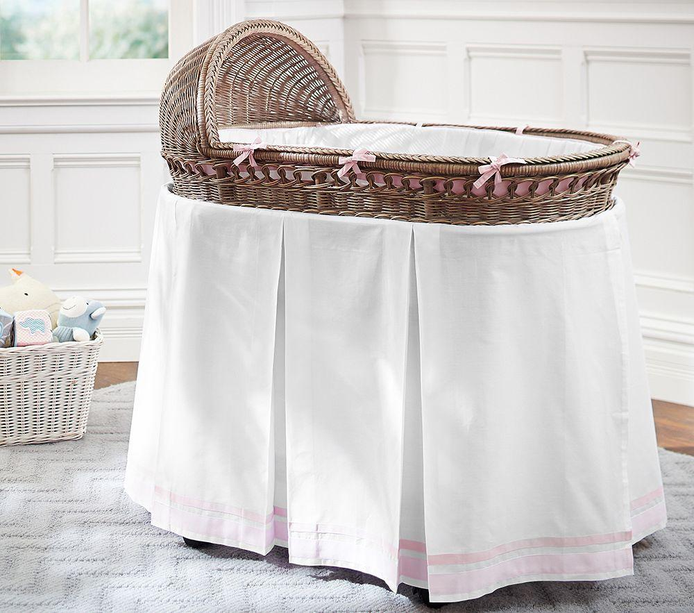 Harper Bassinet Bedding Set Pottery Barn Kids