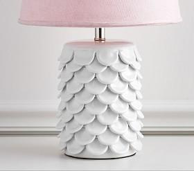 Ceramic Petal Lamp Base