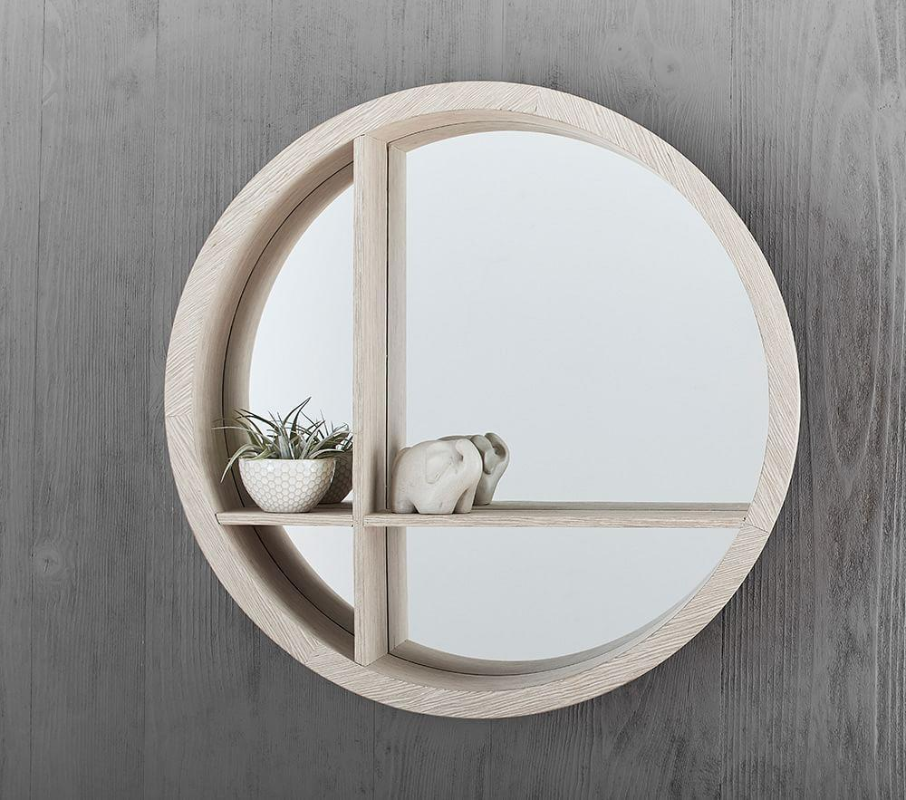 Round shelf mirror pottery barn kids au round shelf mirror round shelf mirror amipublicfo Gallery