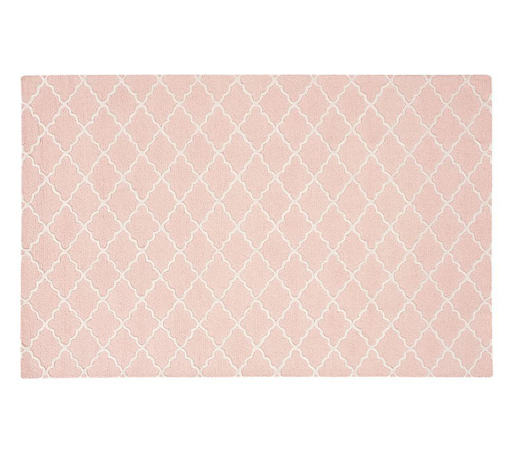 Addison Rug - Light Pink