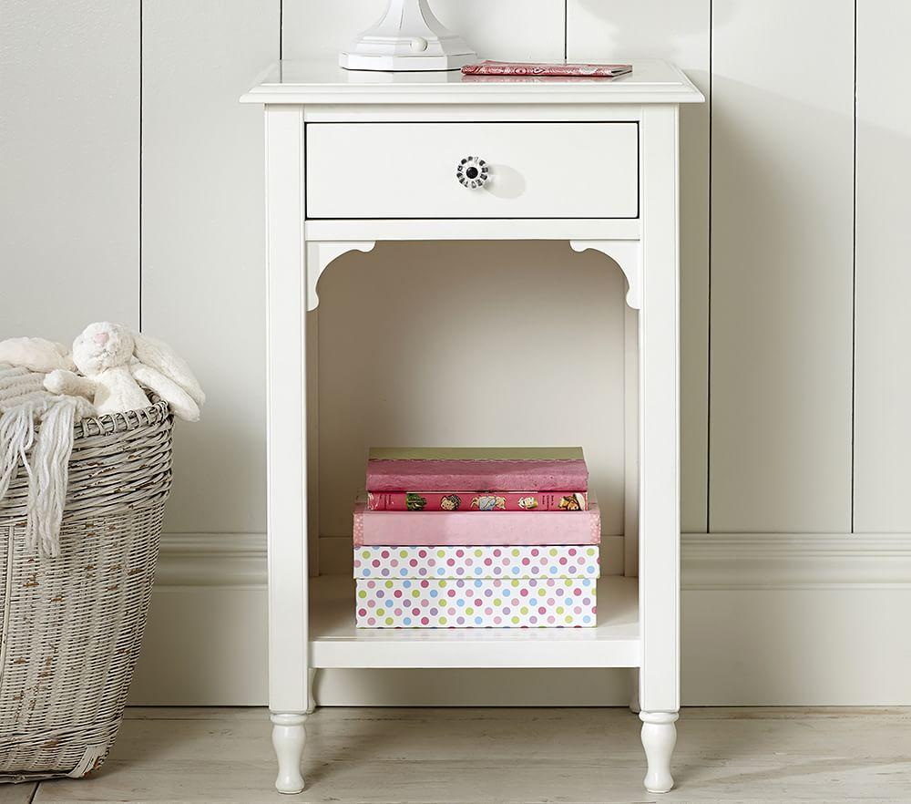 Juliette Bedside Table French White Pottery Barn Kids Au
