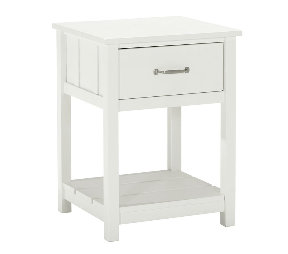 Camp Bedside Table - Simply White