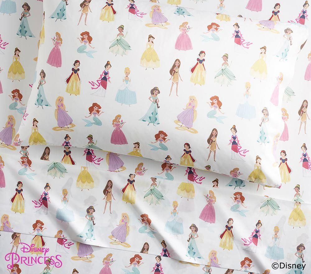 Organic Disney Princess Sheet Set Pottery Barn Kids Au