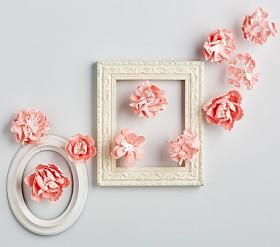 Pink Mixed Flower Wall Decor