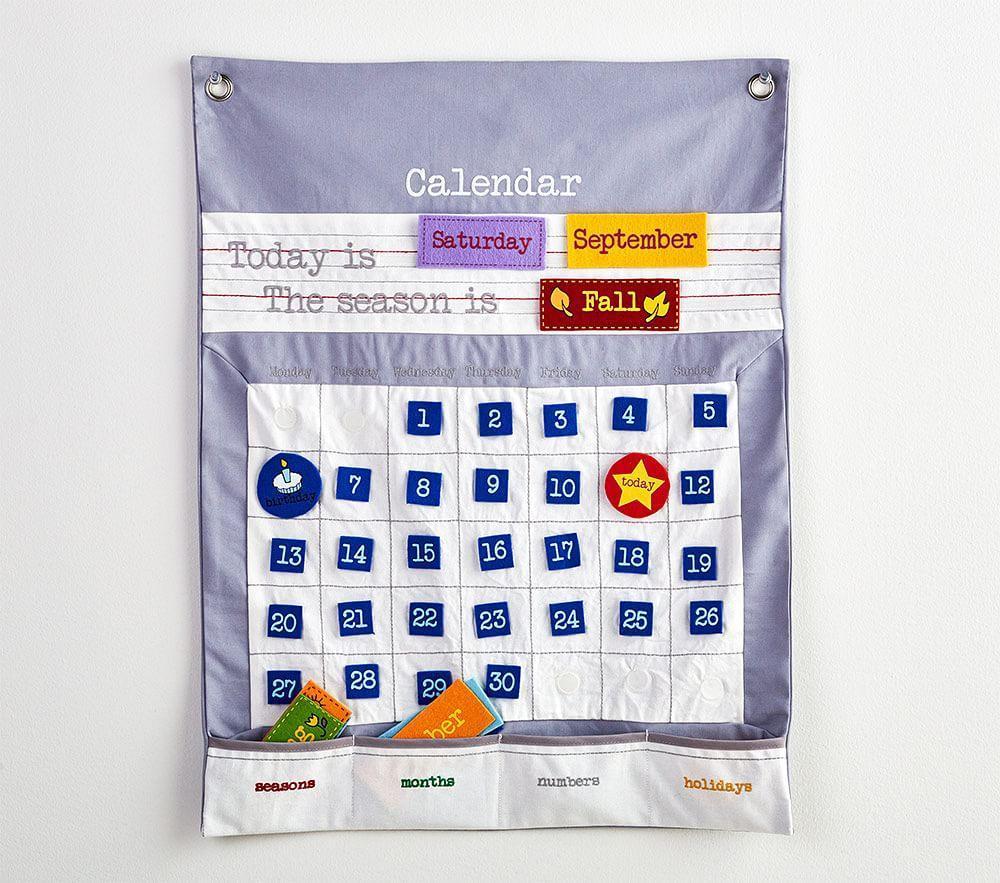 Felt Learning Calendar