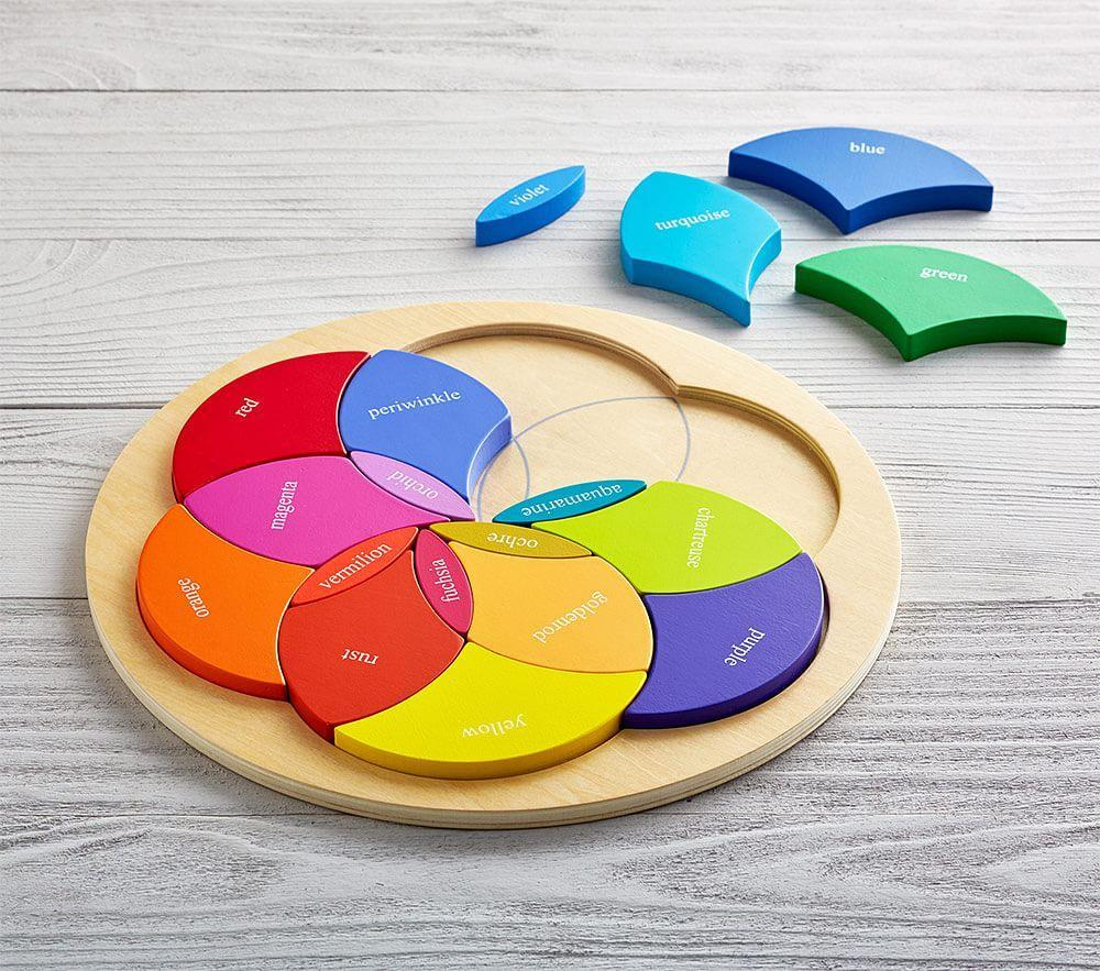 Colour Wheel Puzzle