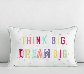 Dream Big, Think Big Decorative Cushion
