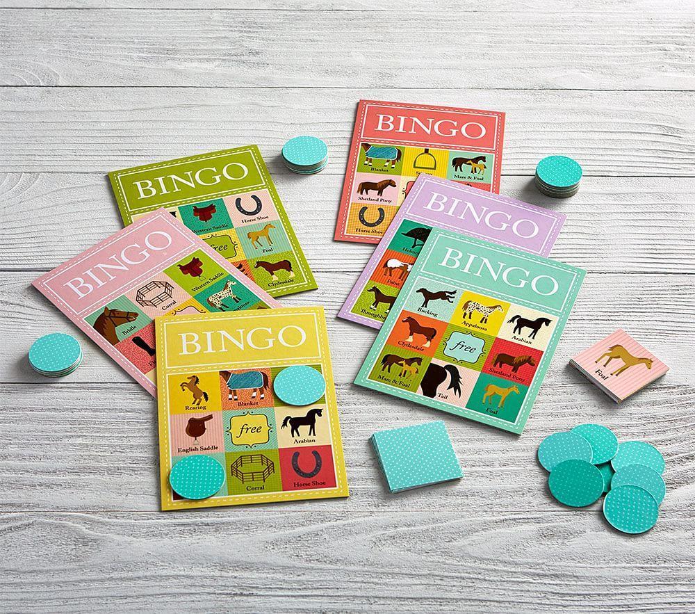 Horse Bingo Game