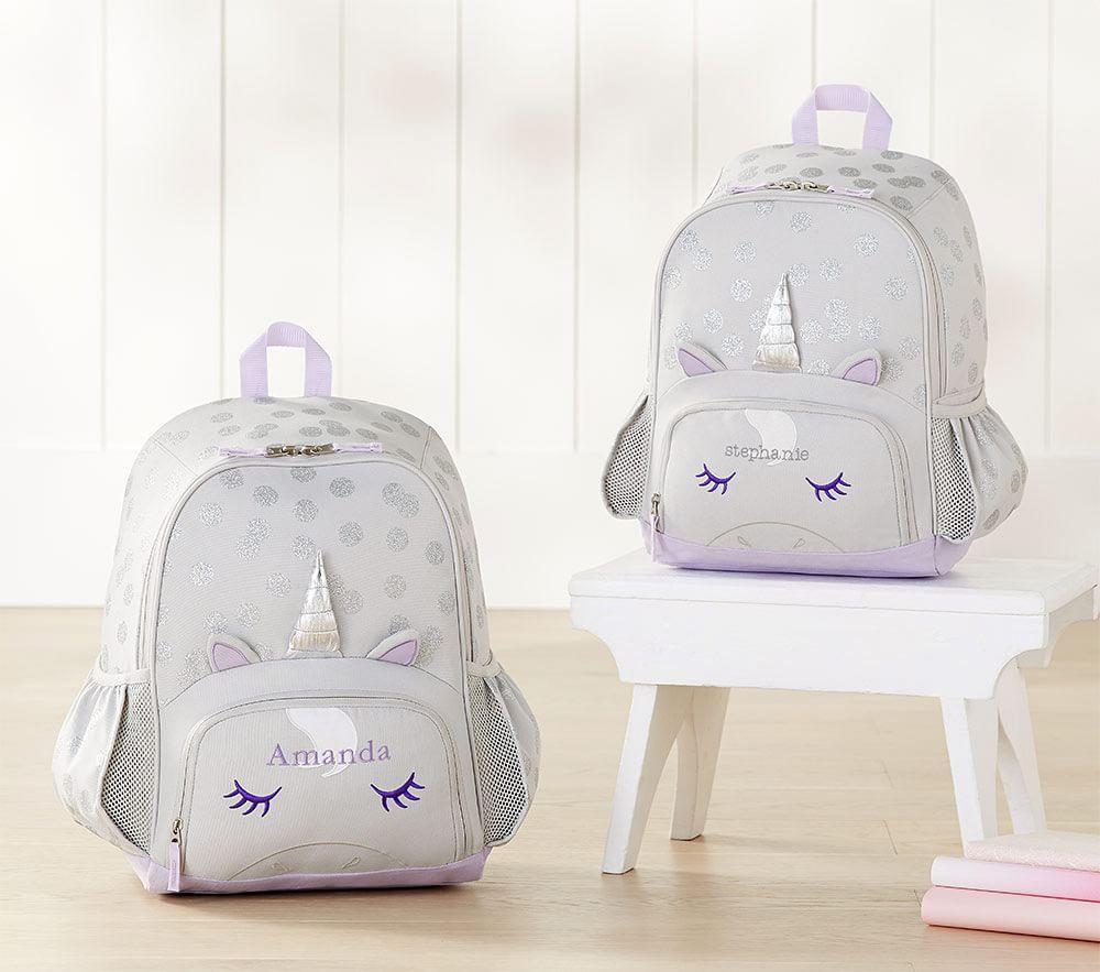 Mackenzie Grey Unicorn Backpack