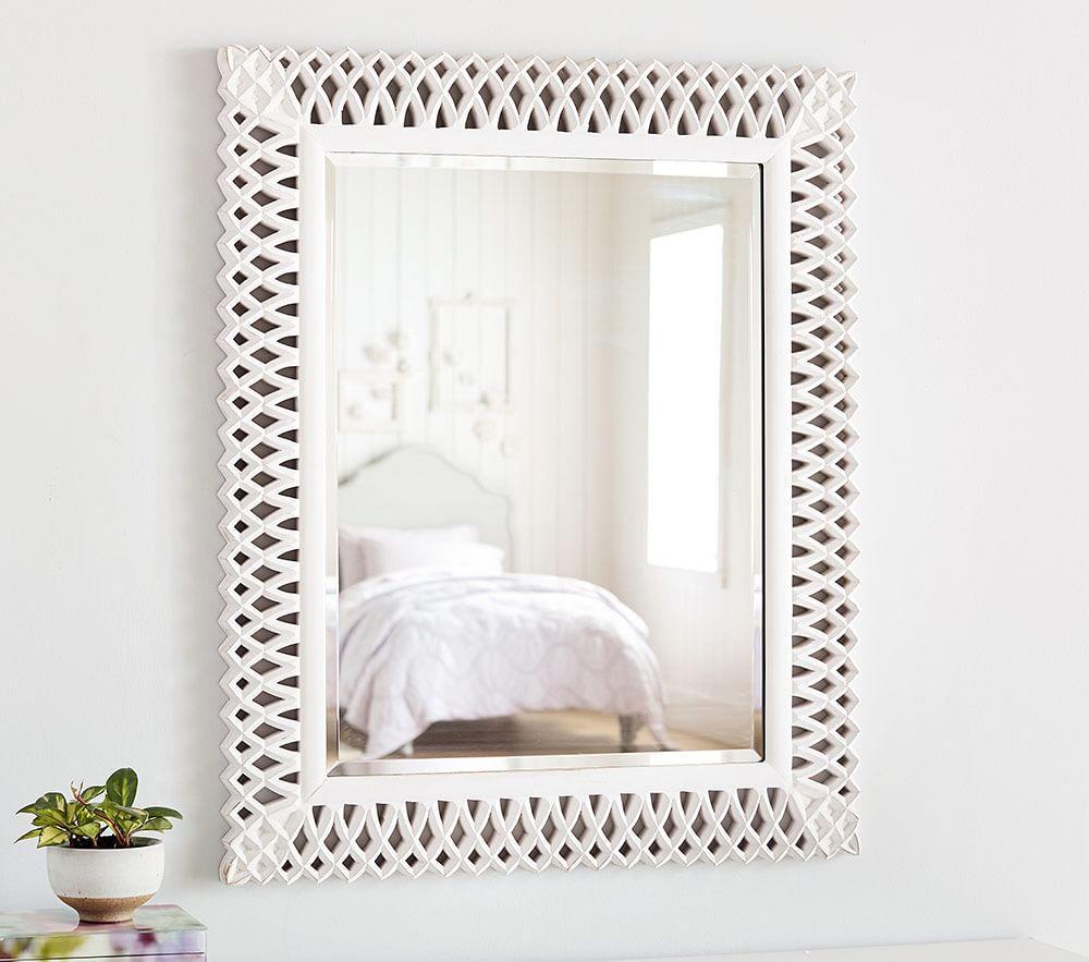 Preppy Lattice Mirror