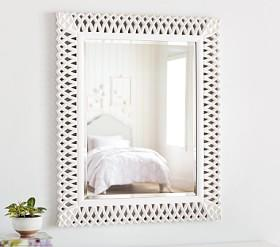 Preppy Lattice Mirror