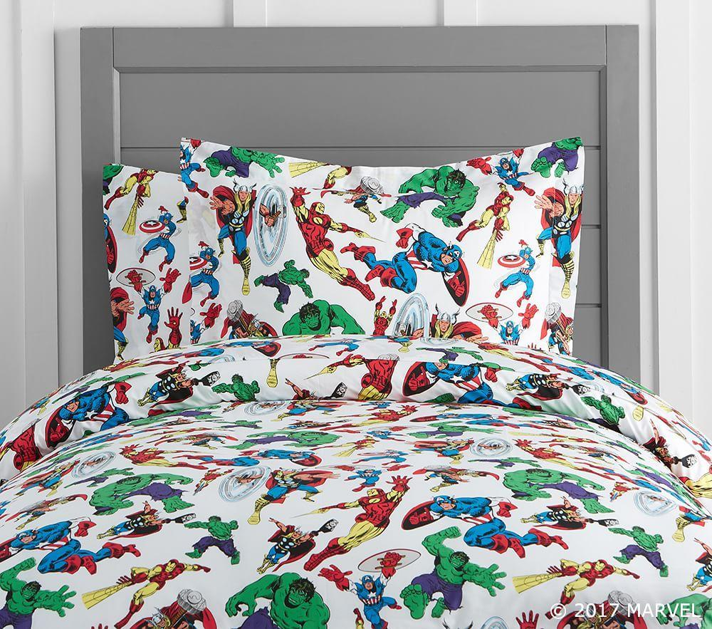 Marvel Quilt Cover Pottery Barn Kids Au