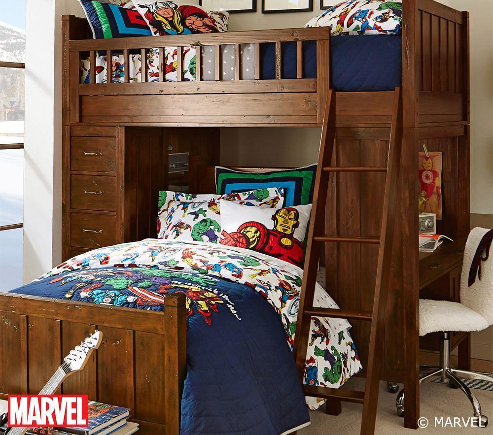 Marvel™ Quilt Cover | Pottery Barn Kids : avengers quilt cover australia - Adamdwight.com