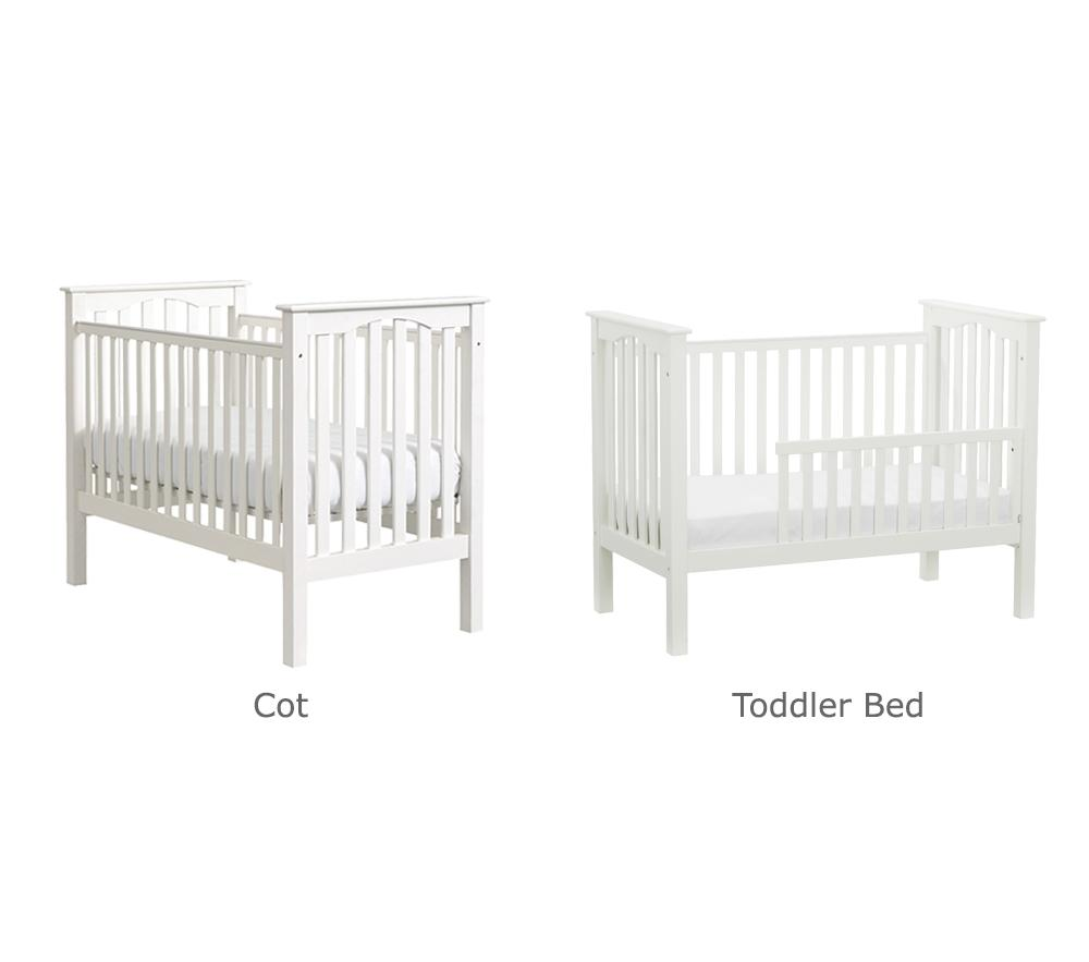 Kendall Cot Simply White Pottery Barn Kids Au