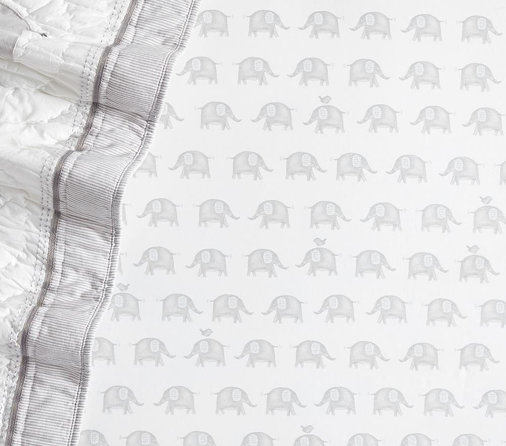 Taylor Organic Cot Fitted Sheet