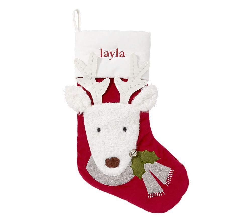 Reindeer Luxe Velvet Stocking